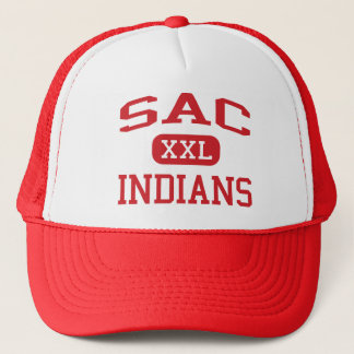 Sac - Indians - Community - Sac City Iowa Trucker Hat