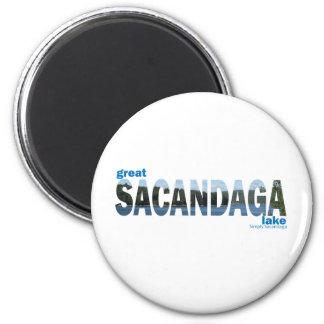 Sacandaga 6 Cm Round Magnet