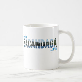 Sacandaga Basic White Mug
