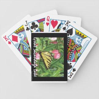 Sacandaga Butterfly Bicycle Poker Deck