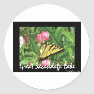 Sacandaga Butterfly Stickers