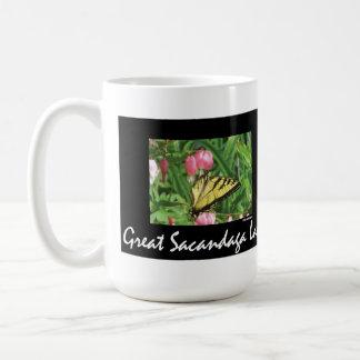 Sacandaga Butterflyl Classic White Coffee Mug