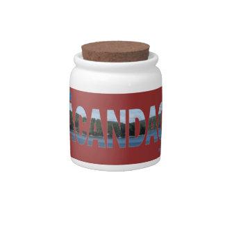 Sacandaga Candy Dishes