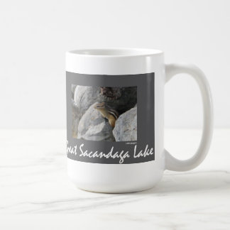 Sacandaga Chipmunk Basic White Mug