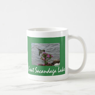 Sacandaga Hummingbird Basic White Mug