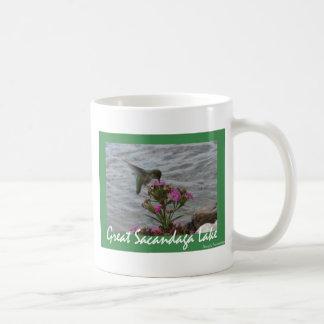 Sacandaga Hummingbird Basic White Mug