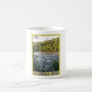 Sacandaga River Basic White Mug