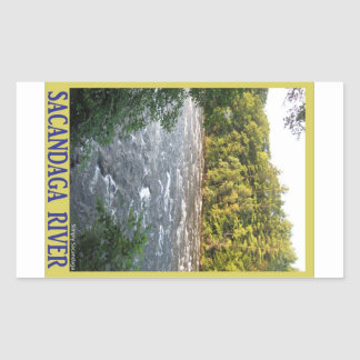 Sacandaga River Rectangular Sticker