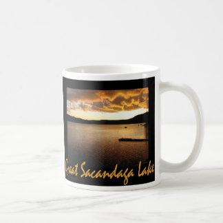 Sacandaga Sunset Yellow Coffee Mug