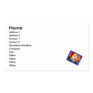 Sachio is an angry winger with purple hair.png Double-Sided standard business cards (Pack of 100)