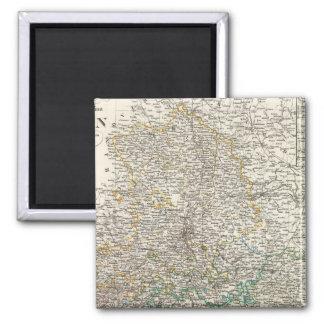 Sachsen Square Magnet