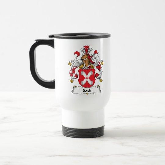 Sack Family Crest Travel Mug