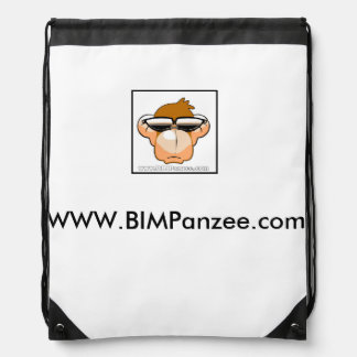 Sack for Mobile BIMPanzees Drawstring Bag