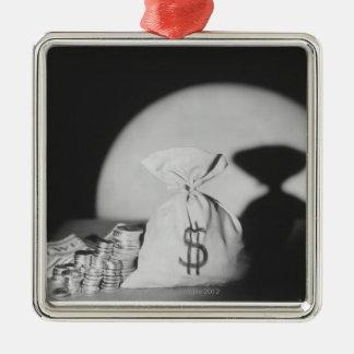 Sack of Money Christmas Ornament