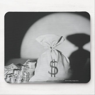 Sack of Money Mouse Pad