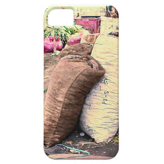 Sacks at the market, Singapore iPhone 5 Covers