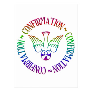 Sacrament of Confirmation - Descent of Holy Spirit Postcard