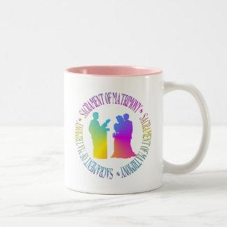 Sacrament of Matrimony Two-Tone Mug