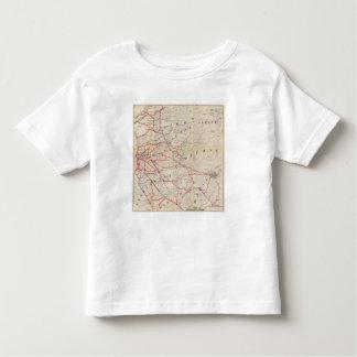 Sacramento, Amador, Calaveras, San Joaquin Toddler T-Shirt