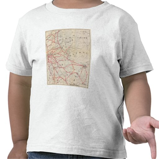Sacramento, Amador, Calaveras, San Joaquin Tshirts
