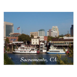 Sacramento CA Postcard
