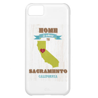 Sacramento, California Map – Home Is Where iPhone 5C Case