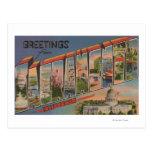 Sacramento, CaliforniaLarge Letter Scenes Postcard