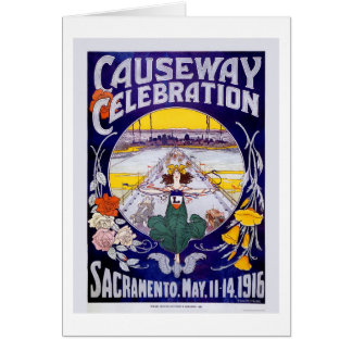 Sacramento Causeway Celebration Card