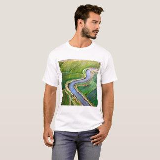 Sacramento River Delta Aerial T-Shirt