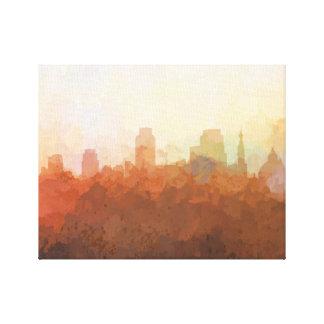 SACRAMENTO SKYLINE-In the Clouds Canvas Canvas Print