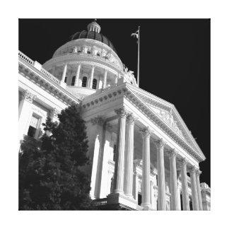 Sacramento State Capital Canvas Prints