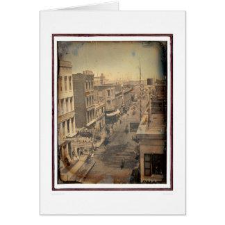 Sacramento Street - Reversed Version (40089) Greeting Card