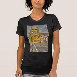 Sacramento Tower Bridge Tee Shirts