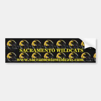 Sacramento Wildcats Bumper Sticker