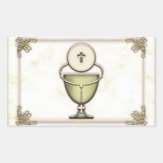 Sacraments Rectangular Sticker