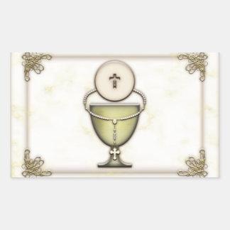 Sacraments Rectangular Stickers