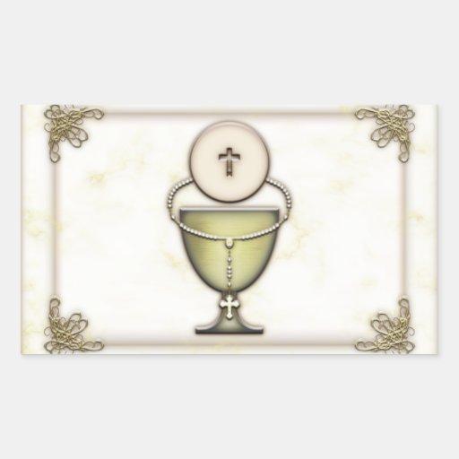 Sacraments Rectangle Sticker