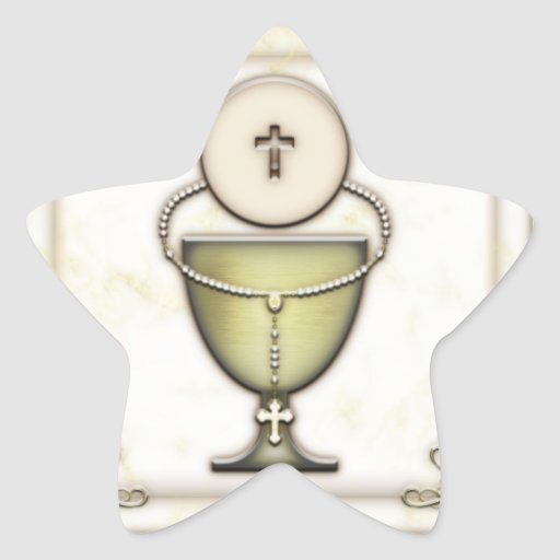 Sacraments Star Stickers