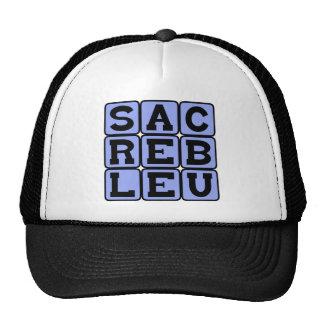 Sacré Bleu, French Slang Cap