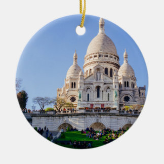 Sacre Coeur Basilica, French Architecture, Paris Christmas Ornament