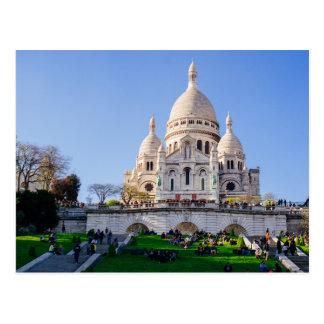 Sacre Coeur Basilica, French Architecture, Paris Postcard