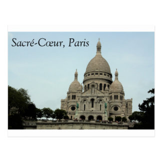 Sacré-Coeur Basilica, Paris Postcard