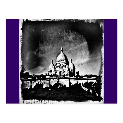 Sacre Coeur BW Post Cards