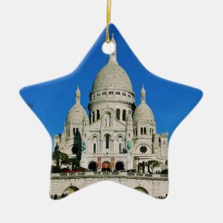 Sacre Coeur Christmas Ornament