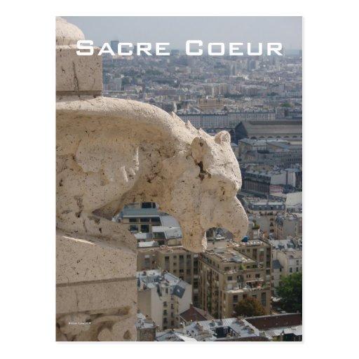 Sacre Coeur Gargoyle 1 Postcard