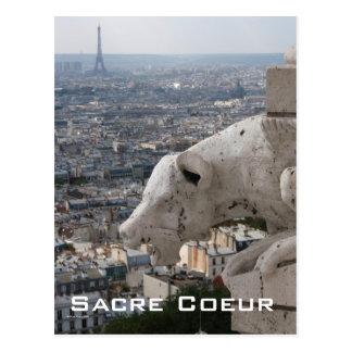 Sacre Coeur Gargoyle 2 Postcard