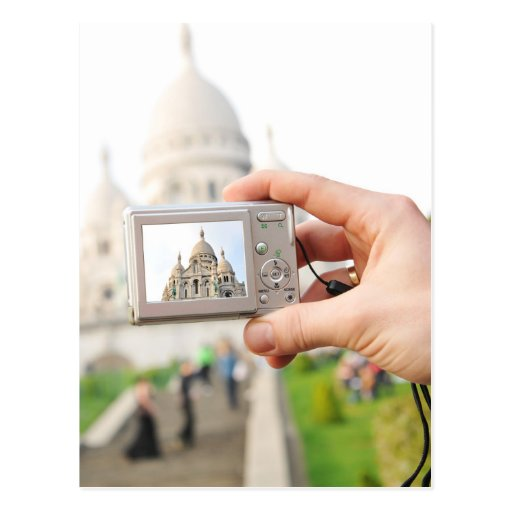Sacre-Coeur in Paris Post Card
