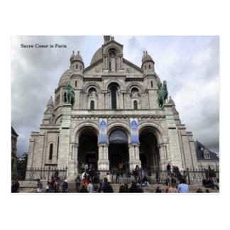 Sacre Coeur in Paris Postcard