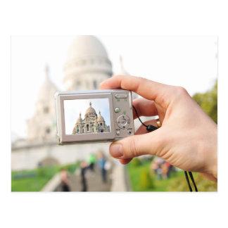 Sacre-Coeur in Paris Postcard
