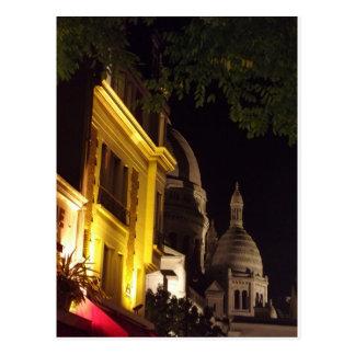 Sacre Coeur Montmartre Paris, France Postcard
